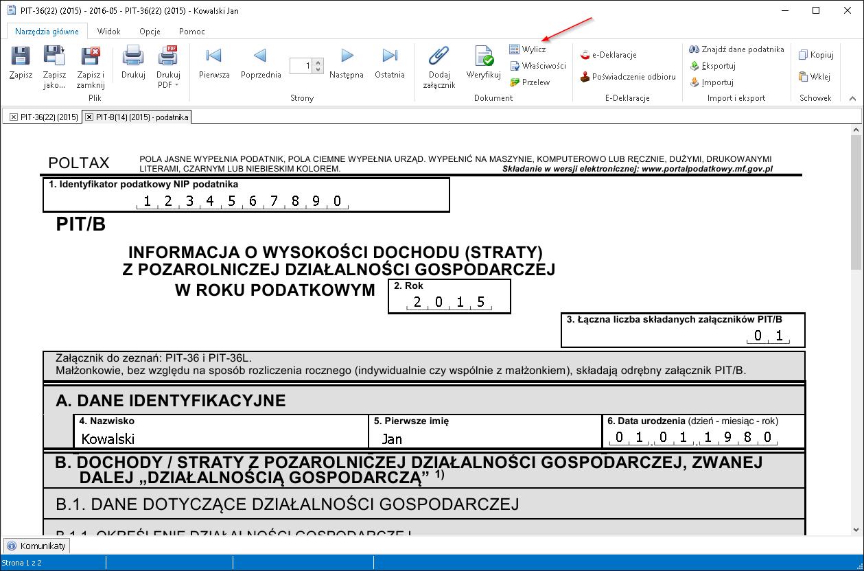 Taxmachine Jak Rozpocząć Pracę Z Programem Dokumentacja